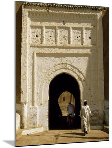 Village Gateway on the 'Circuit Touristique' South of Rissani-Amar Grover-Mounted Photographic Print