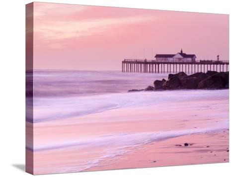 Southwold Pier at Dawn, Suffolk, UK-Nadia Isakova-Stretched Canvas Print