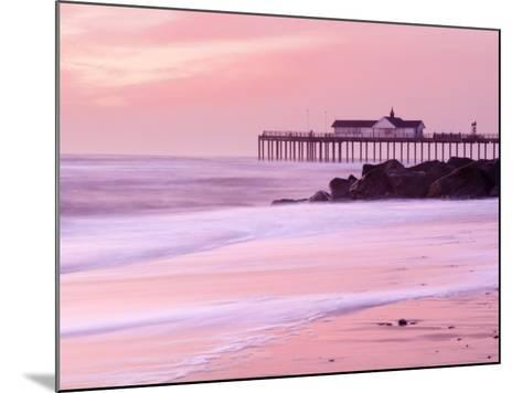 Southwold Pier at Dawn, Suffolk, UK-Nadia Isakova-Mounted Photographic Print
