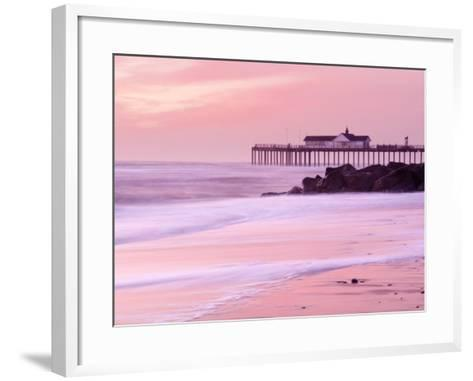 Southwold Pier at Dawn, Suffolk, UK-Nadia Isakova-Framed Art Print