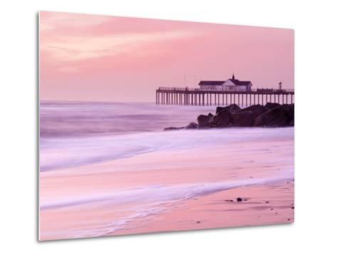 Southwold Pier at Dawn, Suffolk, UK-Nadia Isakova-Metal Print