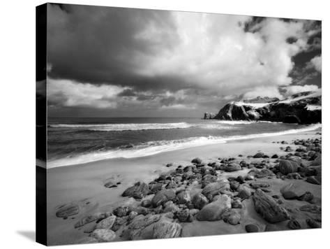Infrared Image of Dalmore Beach, Isle of Lewis, Hebrides, Scotland, UK-Nadia Isakova-Stretched Canvas Print