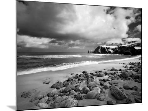 Infrared Image of Dalmore Beach, Isle of Lewis, Hebrides, Scotland, UK-Nadia Isakova-Mounted Photographic Print