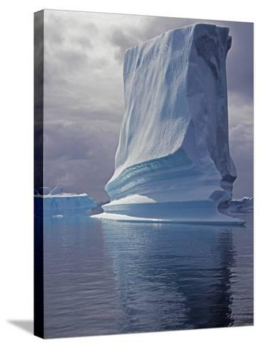 Grandidier Channel, Pleneau Island, Grounded Iceberg, Antarctica-Allan White-Stretched Canvas Print