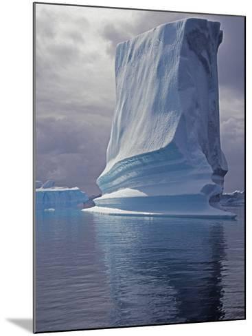 Grandidier Channel, Pleneau Island, Grounded Iceberg, Antarctica-Allan White-Mounted Photographic Print
