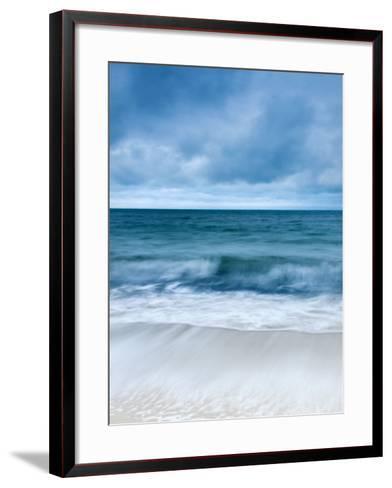 Sunrise at Porthminster Beach, Near St, Ives, Cornwall, UK-Nadia Isakova-Framed Art Print