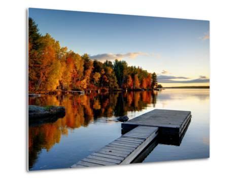 Maine, Baxter State Park, Lake Millinocket, USA-Alan Copson-Metal Print