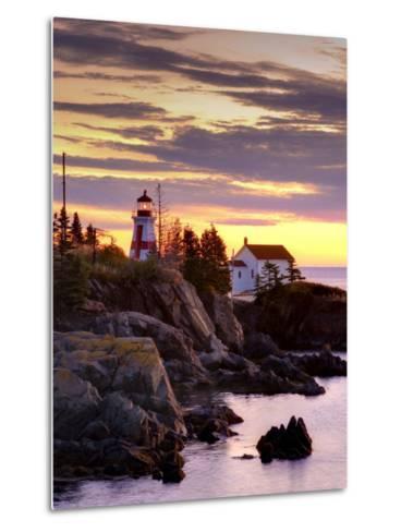 New Brunswick, Campobello Island, East Quoddy Lighthouse, Canada-Alan Copson-Metal Print