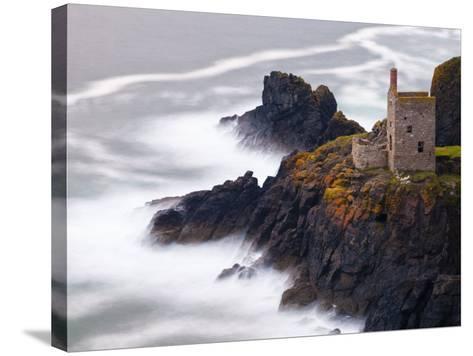 Cornwall, Botallack Mine, UK-Alan Copson-Stretched Canvas Print
