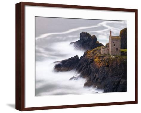 Cornwall, Botallack Mine, UK-Alan Copson-Framed Art Print