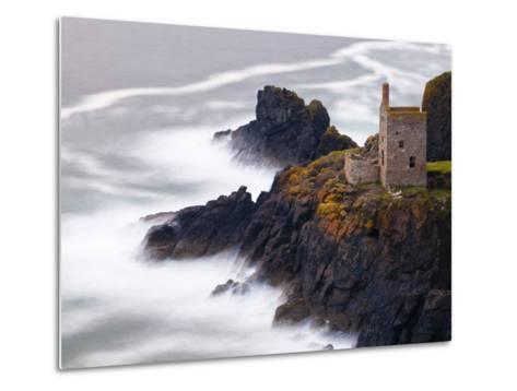 Cornwall, Botallack Mine, UK-Alan Copson-Metal Print