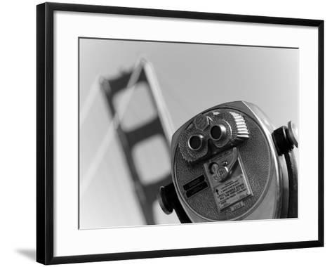 California, San Francisco, Golden Gate Bridge, USA-Alan Copson-Framed Art Print