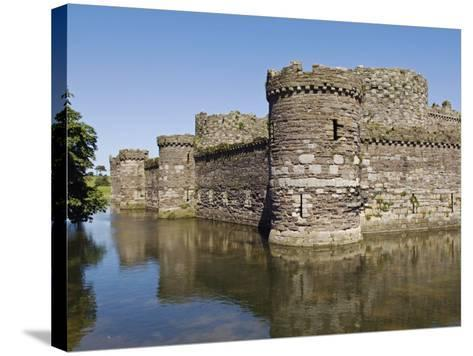 Wales, Anglesey, Beaumaris Castle Is One of Iron Ring of Castles Build by Edward I-John Warburton-lee-Stretched Canvas Print