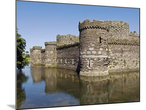 Wales, Anglesey, Beaumaris Castle Is One of Iron Ring of Castles Build by Edward I-John Warburton-lee-Mounted Photographic Print