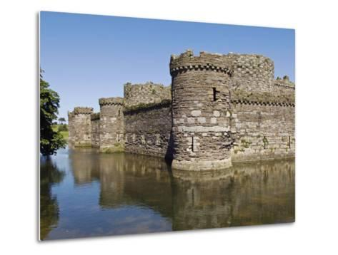 Wales, Anglesey, Beaumaris Castle Is One of Iron Ring of Castles Build by Edward I-John Warburton-lee-Metal Print