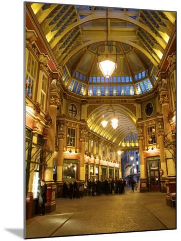 Leadenhall Market, London, England, UK-Neil Farrin-Mounted Photographic Print