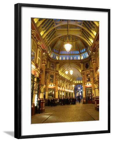 Leadenhall Market, London, England, UK-Neil Farrin-Framed Art Print
