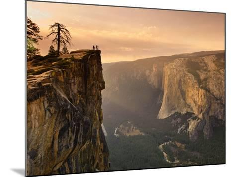 California, Yosemite National Park, Taft Point, El Capitan and Yosemite Valley, USA-Michele Falzone-Mounted Photographic Print