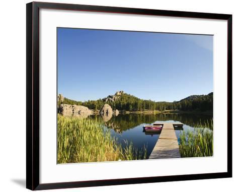 Sylvan Lake, Black Hills National Forest, Custer State Park, South Dakota-Michele Falzone-Framed Art Print