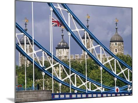 London, the Tower of London and Tower Bridge, England-Paul Harris-Mounted Photographic Print