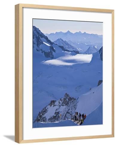 Chamonix-Mont-Blanc, French Alps, Haute Savoie, France-Gavin Hellier-Framed Art Print