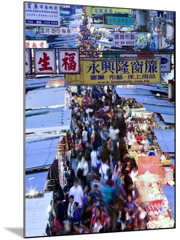 Hong Kong, Kowloon, Mongkok, Fa Yuen Street Market, China-Peter Adams-Mounted Photographic Print