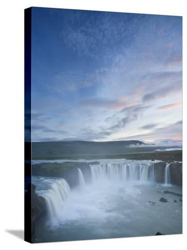 Godafoss Waterfall, Iceland-Michele Falzone-Stretched Canvas Print