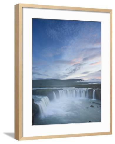 Godafoss Waterfall, Iceland-Michele Falzone-Framed Art Print