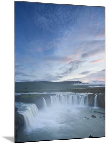 Godafoss Waterfall, Iceland-Michele Falzone-Mounted Photographic Print