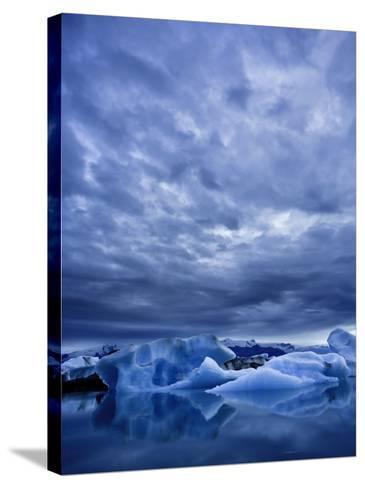 Jokulsarlon Iceberg Lagoon, Iceland-Michele Falzone-Stretched Canvas Print