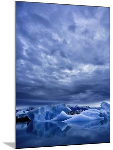 Jokulsarlon Iceberg Lagoon, Iceland-Michele Falzone-Mounted Photographic Print
