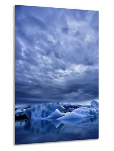 Jokulsarlon Iceberg Lagoon, Iceland-Michele Falzone-Metal Print