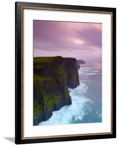 Cliffs of Moher, County Clare, Ireland-Doug Pearson-Framed Art Print