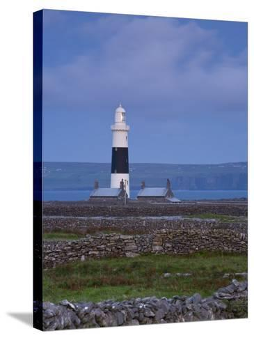 Inisheer Lighthouse, Inisheer, Aran Islands, Co, Galway, Ireland-Doug Pearson-Stretched Canvas Print