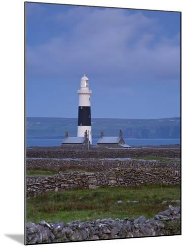 Inisheer Lighthouse, Inisheer, Aran Islands, Co, Galway, Ireland-Doug Pearson-Mounted Photographic Print