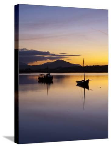 Roundstone Harbour, Connemara, Co, Galway, Ireland-Doug Pearson-Stretched Canvas Print