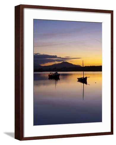 Roundstone Harbour, Connemara, Co, Galway, Ireland-Doug Pearson-Framed Art Print