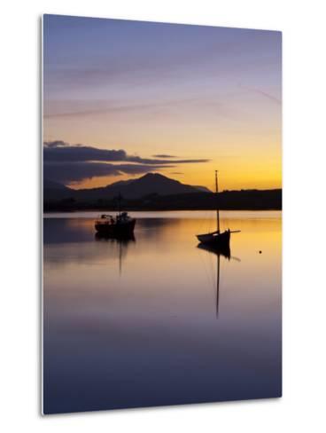 Roundstone Harbour, Connemara, Co, Galway, Ireland-Doug Pearson-Metal Print