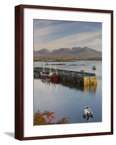 Roundstone Harbour, Connemara, Co, Galway, Ireland-Doug Pearson-Framed Art Print