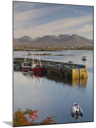 Roundstone Harbour, Connemara, Co, Galway, Ireland-Doug Pearson-Mounted Photographic Print