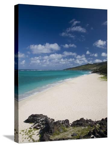 Rodrigues Island, St, Francois, St, Francois Beach, Mauritius-Walter Bibikow-Stretched Canvas Print