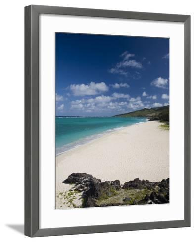 Rodrigues Island, St, Francois, St, Francois Beach, Mauritius-Walter Bibikow-Framed Art Print