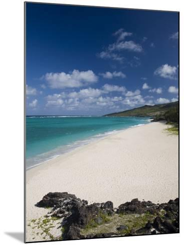 Rodrigues Island, St, Francois, St, Francois Beach, Mauritius-Walter Bibikow-Mounted Photographic Print