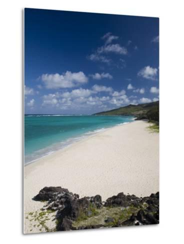 Rodrigues Island, St, Francois, St, Francois Beach, Mauritius-Walter Bibikow-Metal Print