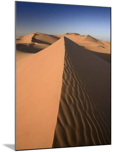 United Arab Emirates, Liwa Oasis, Sand Dunes Near the Empty Quarter Desert-Michele Falzone-Mounted Photographic Print