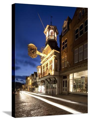 Guildhall, High Street, Guildford, Surrey, England-Jon Arnold-Stretched Canvas Print