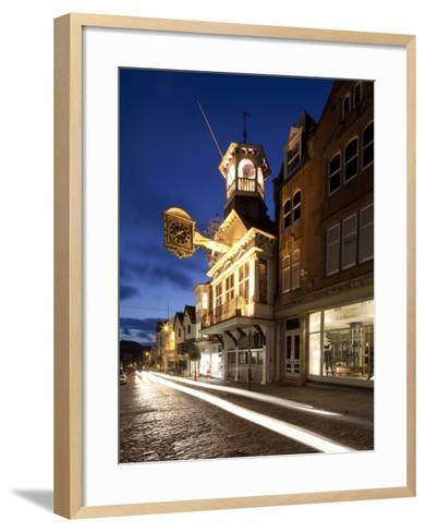 Guildhall, High Street, Guildford, Surrey, England-Jon Arnold-Framed Art Print