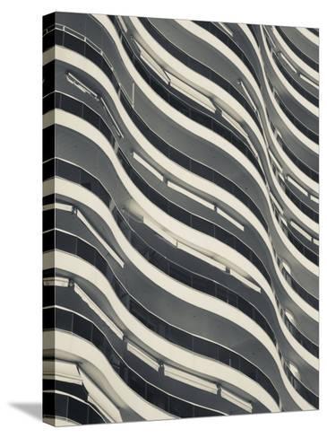 Punta Del Este, Millenium Tower, Condo Tower, Uruguay-Walter Bibikow-Stretched Canvas Print