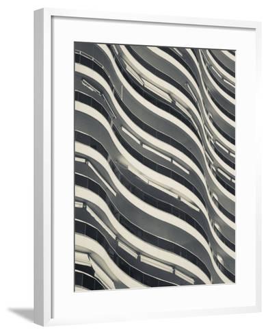 Punta Del Este, Millenium Tower, Condo Tower, Uruguay-Walter Bibikow-Framed Art Print