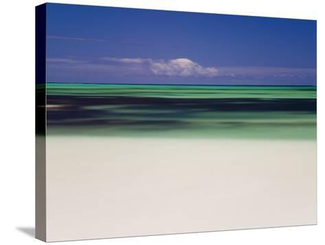 Beach and Indian Ocean, Cervantes, Western Australia, Australia-Peter Adams-Stretched Canvas Print